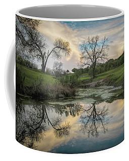 Bare Tree Reflections Coffee Mug