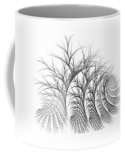 Bare Trees Daylight Coffee Mug
