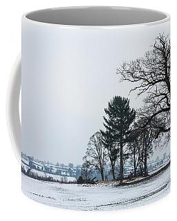 Bare Trees In The Snow Coffee Mug
