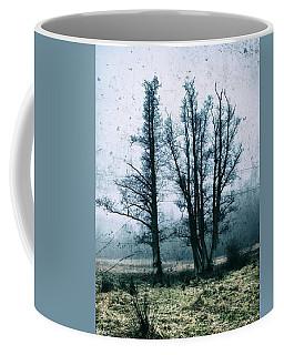 Bare Winter Trees Coffee Mug by Karen Stahlros
