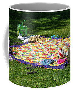 Barefoot In The Grass Coffee Mug
