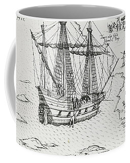 Barents' Ship At Nova Zembla Coffee Mug