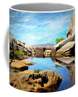 Barker Dam - Joshua Tree National Park Coffee Mug