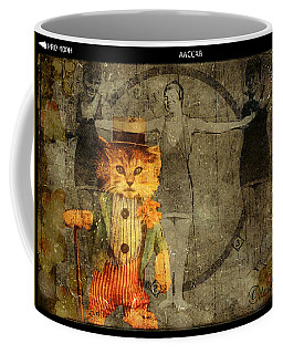 Coffee Mug featuring the digital art Barker by Delight Worthyn
