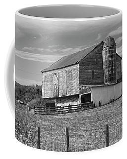 Coffee Mug featuring the photograph Barn 1 by Mike McGlothlen