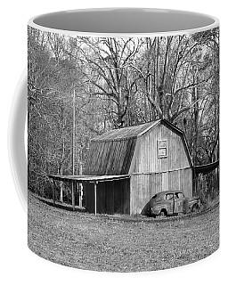 Coffee Mug featuring the photograph Barn 2 by Mike McGlothlen