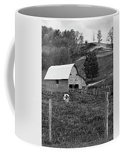 Coffee Mug featuring the photograph Barn 4 by Mike McGlothlen