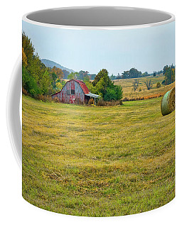 Barn And Field Coffee Mug