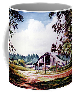 Barn At Honey Island Coffee Mug