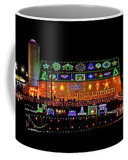 Barn At Koziars Christmas Village Coffee Mug