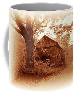 Barn Hocking Co Ohio Sepia Coffee Mug