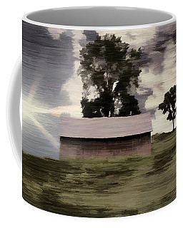 Barn II A Digital Painting Coffee Mug