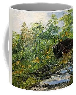 Barn In The Woods Coffee Mug