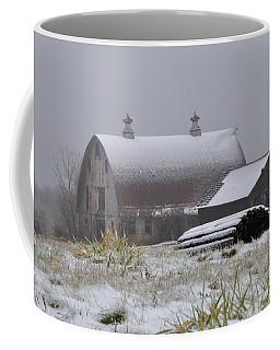 Barn In Winter Coffee Mug