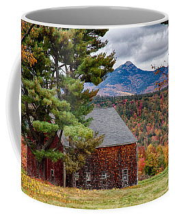Coffee Mug featuring the photograph Barn Number Three by Jeff Folger
