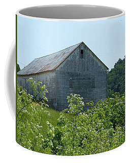 Coffee Mug featuring the photograph Barn Off The Trail by Donald C Morgan