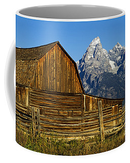 Barn On Mormon Row Coffee Mug