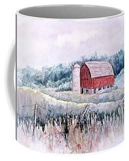 Barn On Weinman Road Coffee Mug