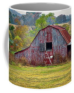 Barn On White Oak Road 2 Coffee Mug