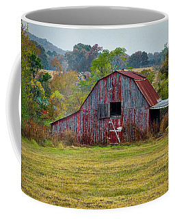 Barn On White Oak Road Coffee Mug