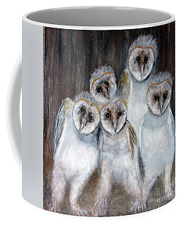 Barn Owl Chicks Coffee Mug