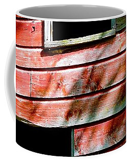 Coffee Mug featuring the photograph Barn Red by Kendall McKernon