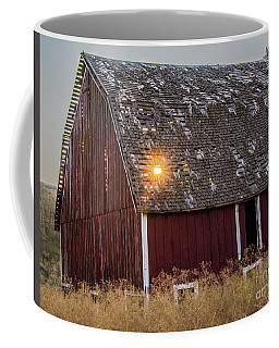 Barn Sunset Coffee Mug