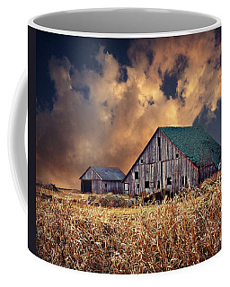 Barn Surrounded With Beauty Coffee Mug