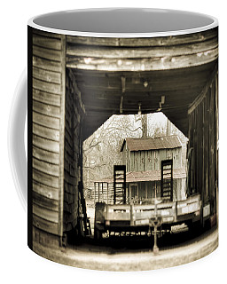 Barn Through A Barn Coffee Mug