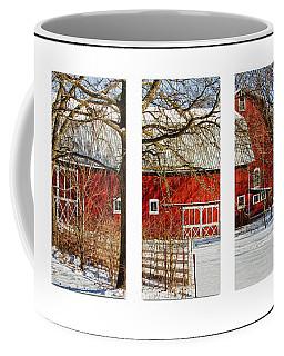 Barn Triptych Coffee Mug