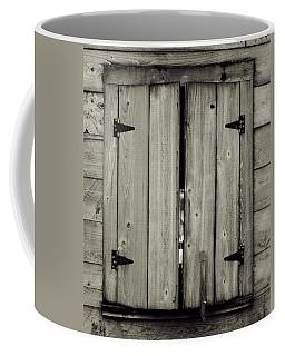 Barn Window Coffee Mug