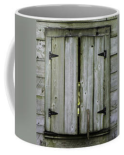 Barn Window, In Color Coffee Mug
