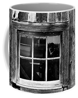Barn Window Coffee Mug