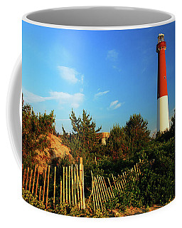 Barnegat Light Coffee Mug by James Kirkikis