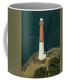 Barnegat Lighthouse From Above Coffee Mug by Gary Slawsky