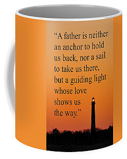 Barnegat Lighthouse With Father Quote Coffee Mug