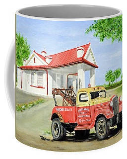 Barnett Garage Coffee Mug