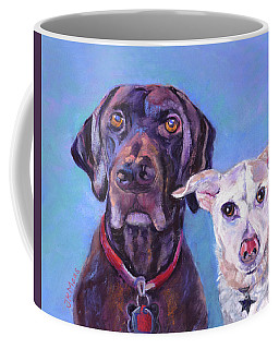 Barney And Casey Coffee Mug