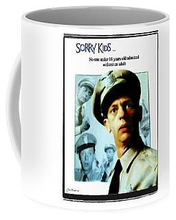 Barney Poster Coffee Mug by Joan  Minchak