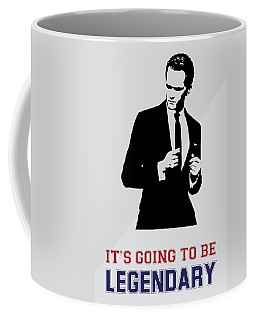 Barney Stinson Poster How I Met Your Mother - It's Going To Be Legendary Coffee Mug