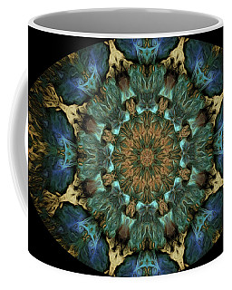 Barnie Paw Prints Kaleidescope 6 Coffee Mug