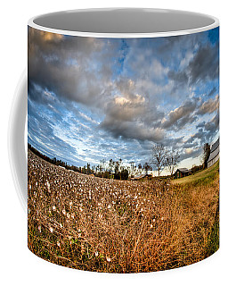 Barns And Cotton Coffee Mug