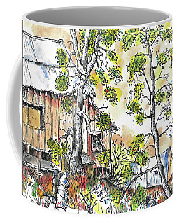 Barns And Trees 1 Coffee Mug