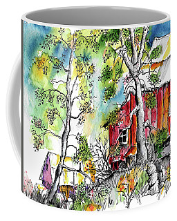Barns And Trees 2 Coffee Mug