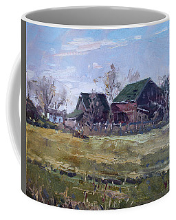 Barns In Niagara County Coffee Mug