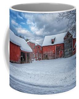 Barns In Winter II Coffee Mug