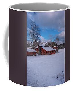 Barns In Winter Coffee Mug