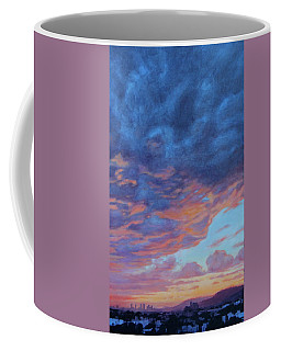 Barnsdall Hill Coffee Mug by Andrew Danielsen