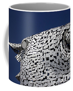 Coffee Mug featuring the photograph Baron Is Watching You by RKAB Works