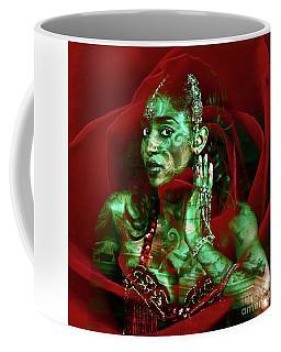 Baroque Meets Oriental Rose Coffee Mug